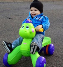 Our youngest grandson Cayden