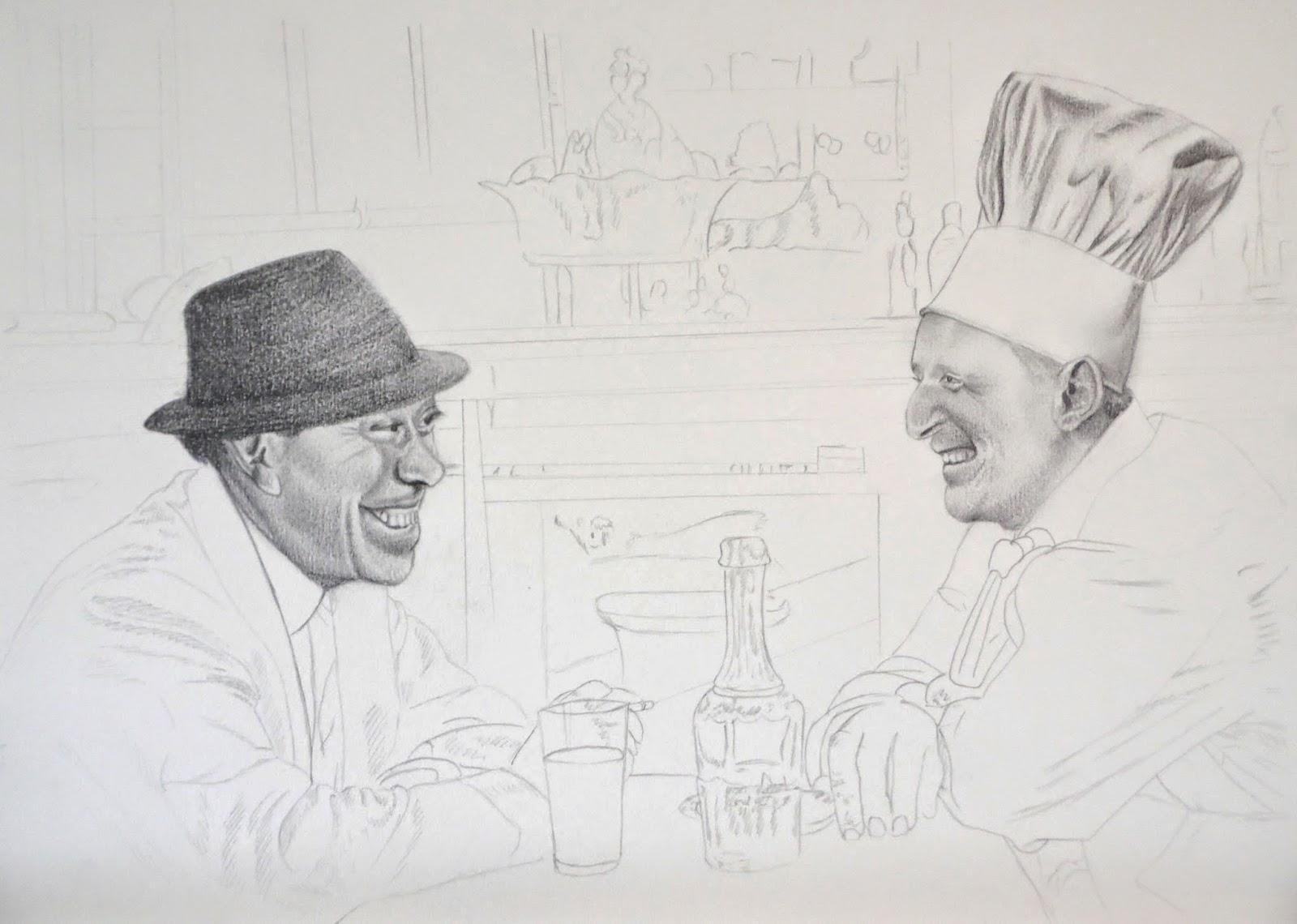"""""""la cuisine au beurre"""" par Antoine Delesalle"""