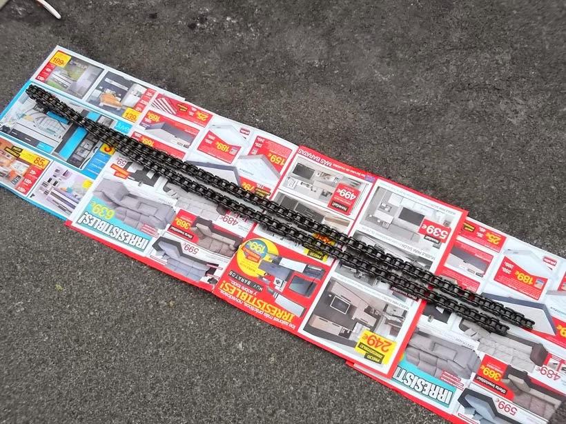 engrasar cadena - spray para cadenas