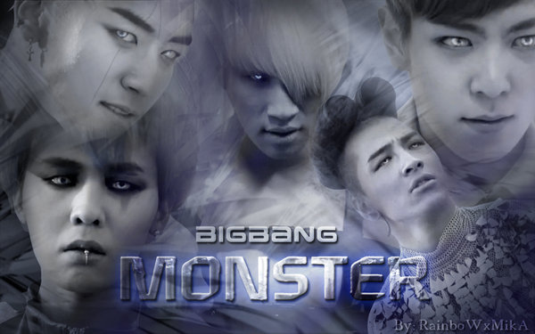 Pop Music Craze: Monster  Big Bang[Easy Romanized Lyrics]