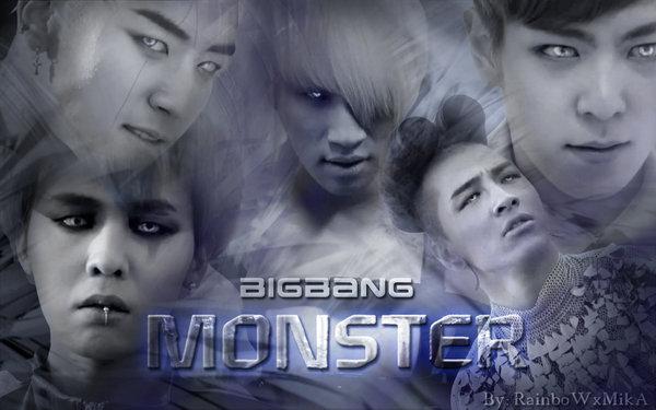 Pop Music Craze: Monster  Big Bang[Easy Romanized Lyrics]