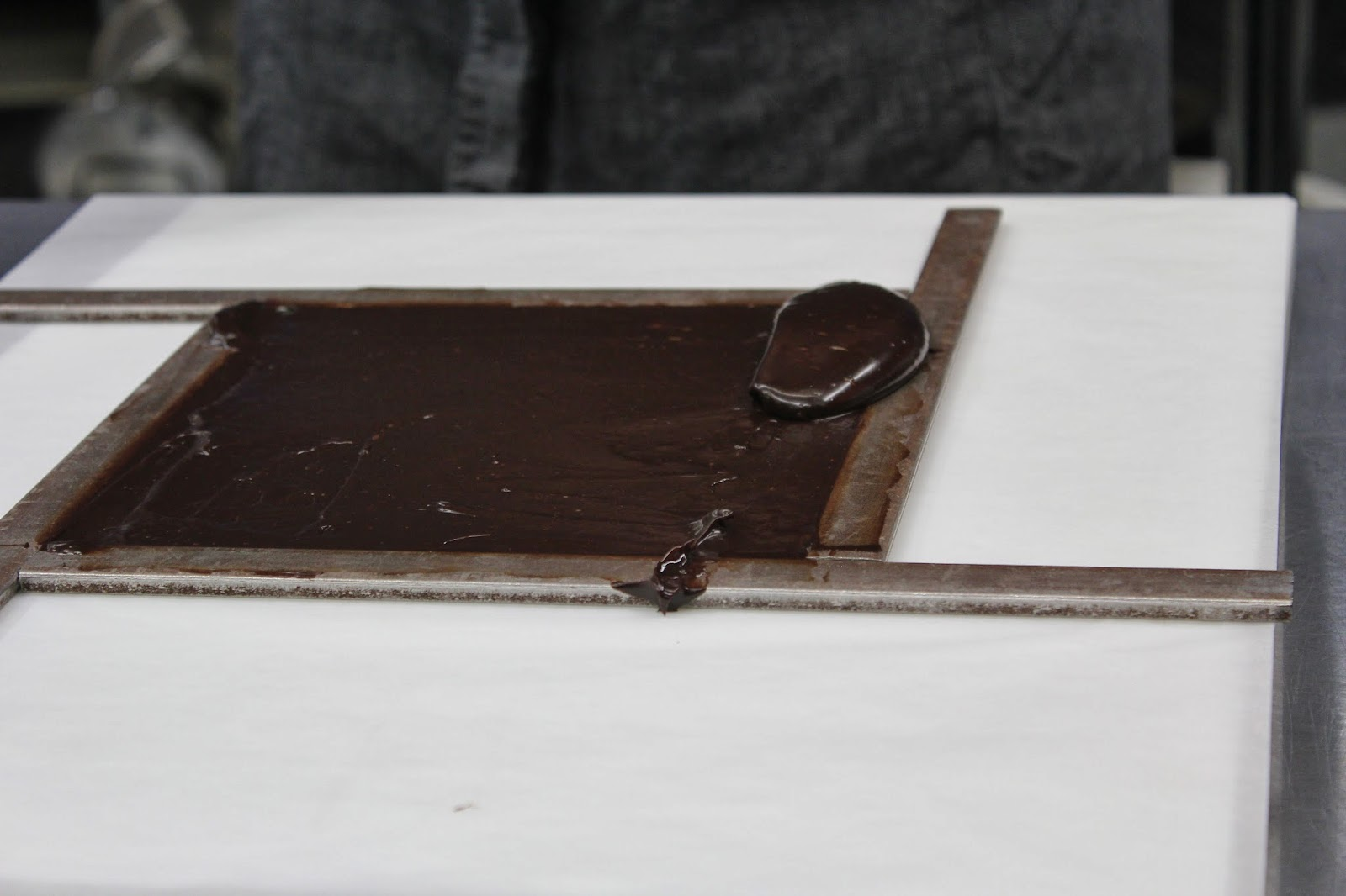 Using framing bars at EHChocolatier Beyond the Bar class