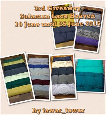 http://fuzamusa.blogspot.com/2015/06/3rd-giveaway-sulaman-lace-heaven.html