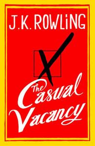 Portada original de Una vacante imprevista, de J.K. Rowling