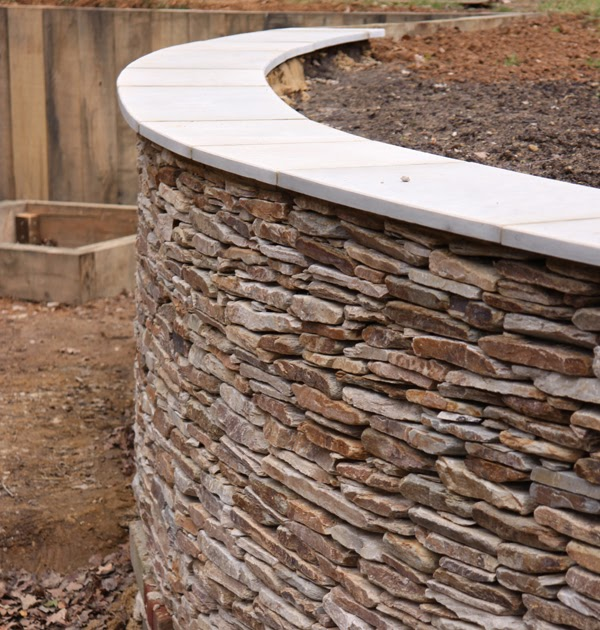 Greencube Garden And Landscape Design, UK: Capping On Wall