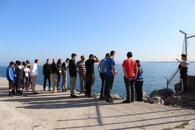 visita de Santo Tomás Lizeoa a Petronor