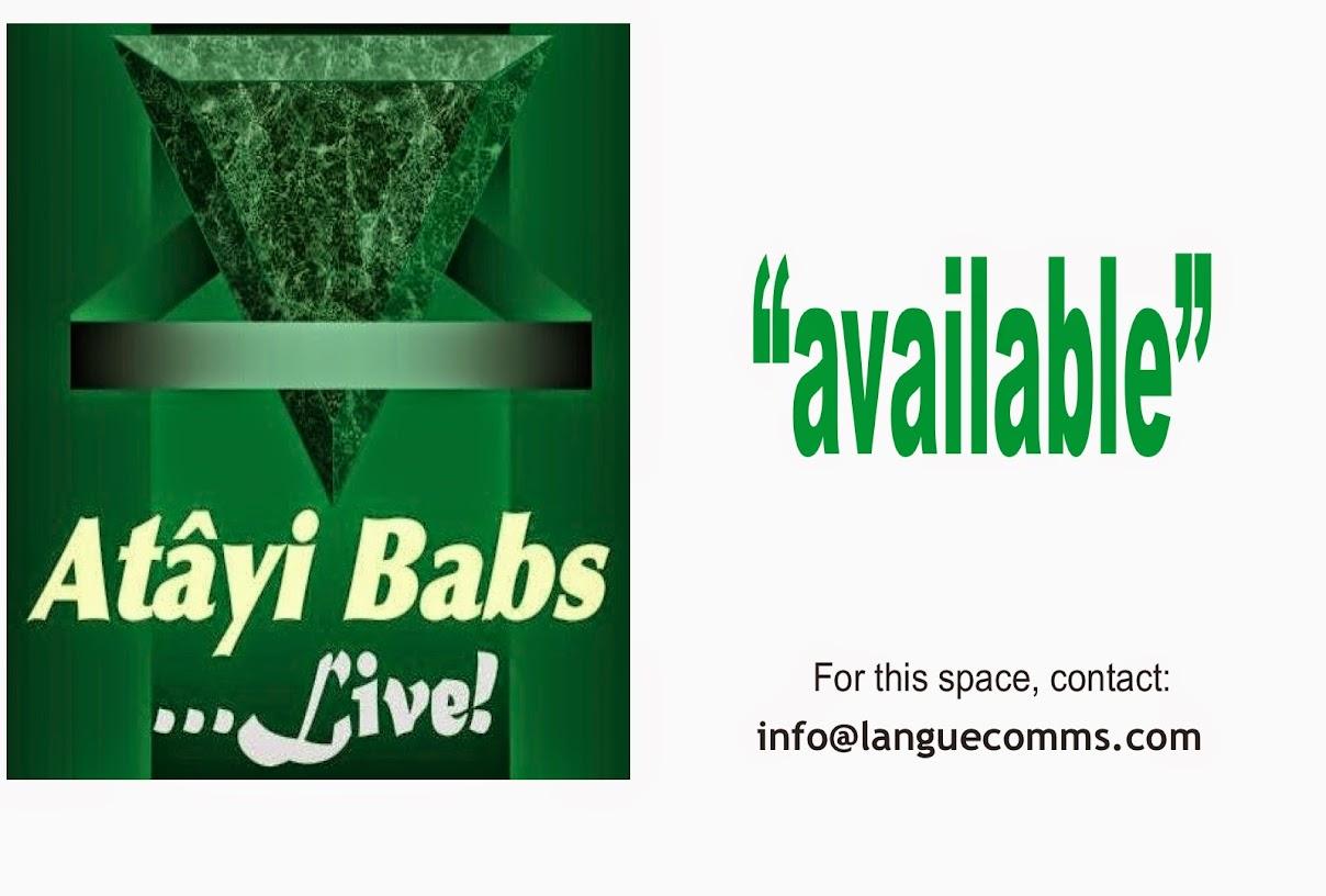 Atâyi Babs LIVE!