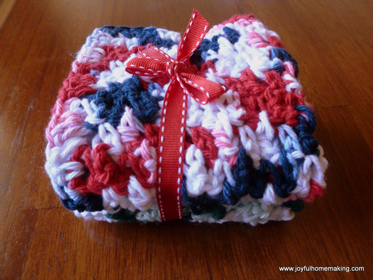 2 Easy Crocheted Gifts - Joyful Homemaking