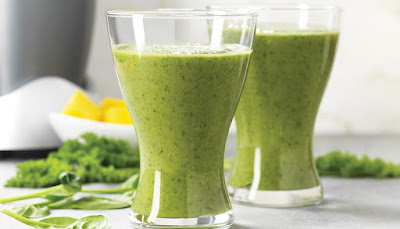 Benefits of green smoothies scrubbers