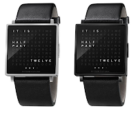 QLOCKTWO W, Unique Watches That Provides Time Information Through Text