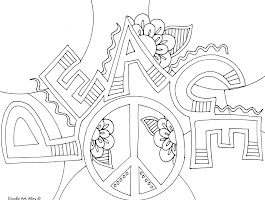 Heart Doodle Art Coloring Pages