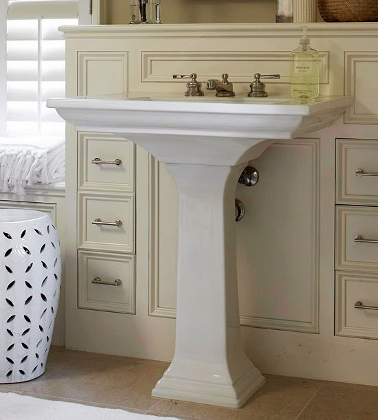 Modern Furniture Smart Solutions For Small Bathrooms 2014