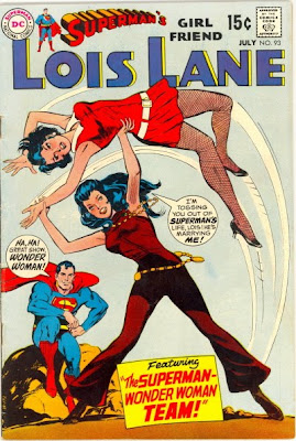 Wonder Woman vs Lois Lane in Superman's Girlfriend Lois Lane #93