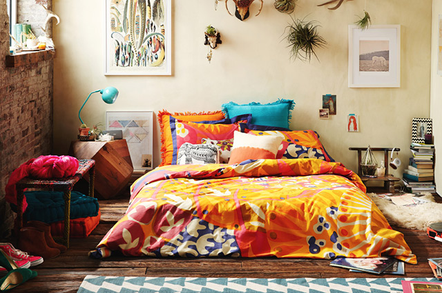 Decoration Cuisine Appartement : Deco Hippie Chambre  Urban outfitters home lookbook daydream lily