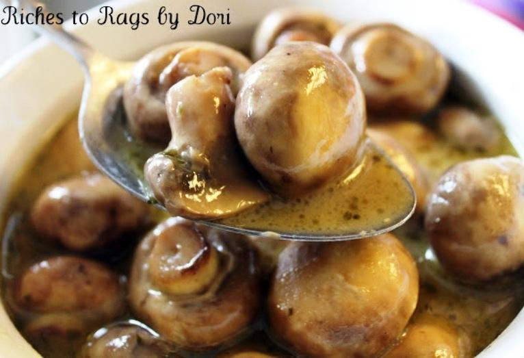 The Bestest Recipes Online: Crockpot Parmesan Ranch Mushrooms