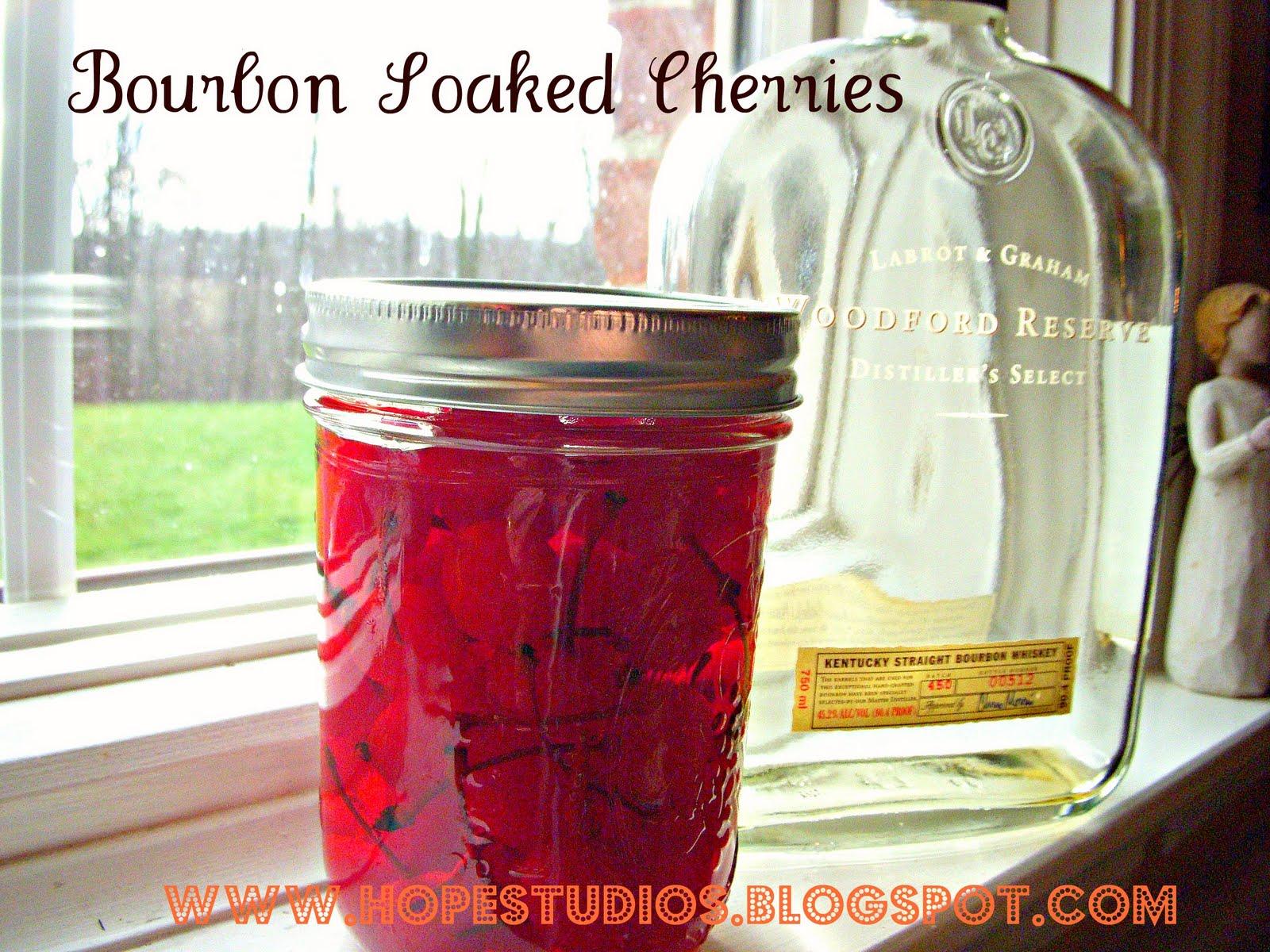 Hope Studios: Bourbon Soaked Cherries