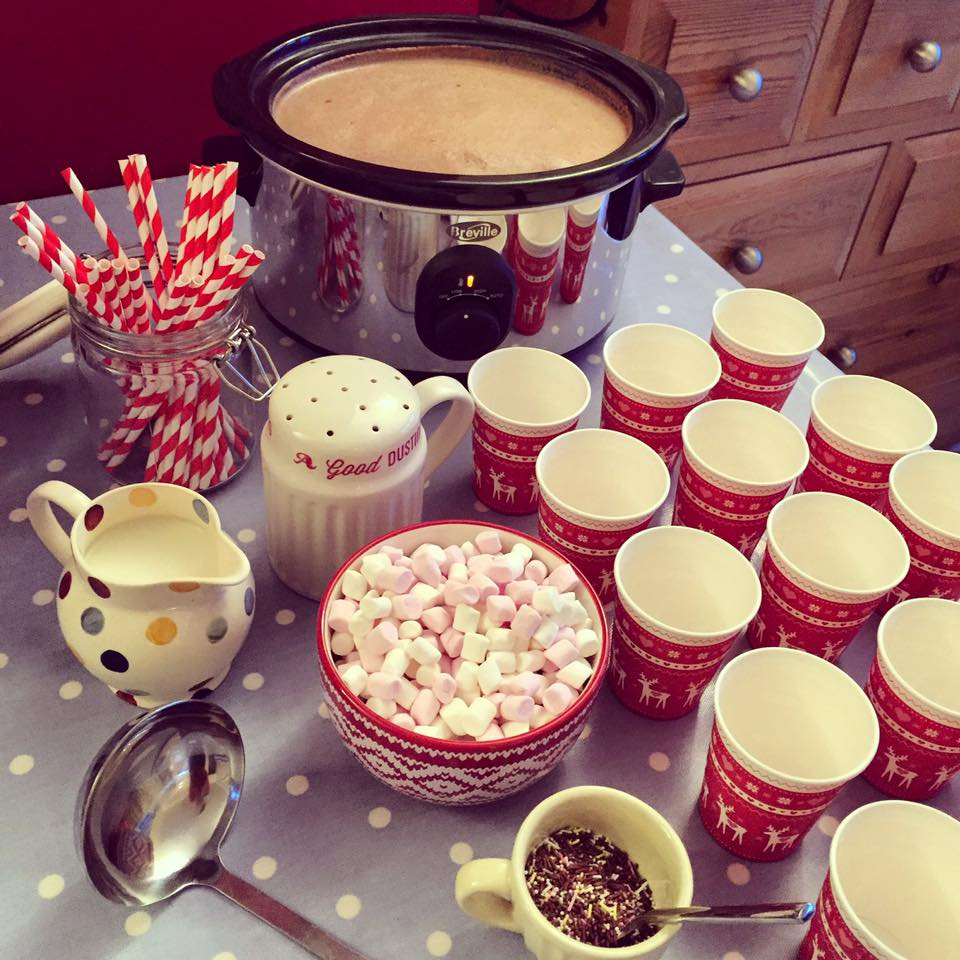 Sugar Rushed: Hot Chocolate Station!