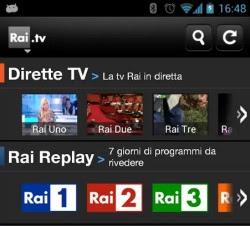 App per vedere la tv sul cellulare android e iphone for App per vedere telecamere su android