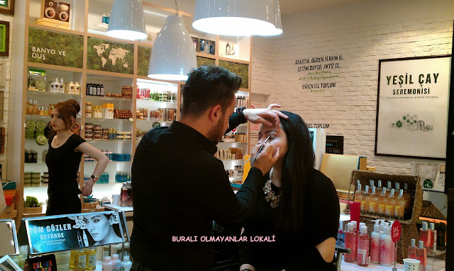 Buralı Olmayanlar Lokali-The Body Shop