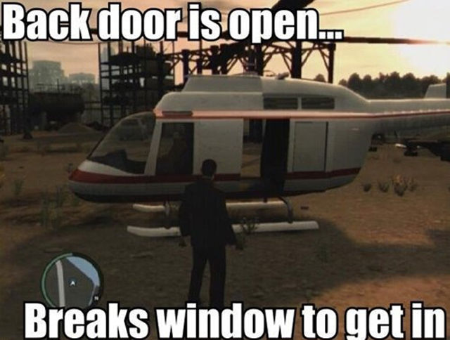 Hilarious GTA And More Gaming Logics
