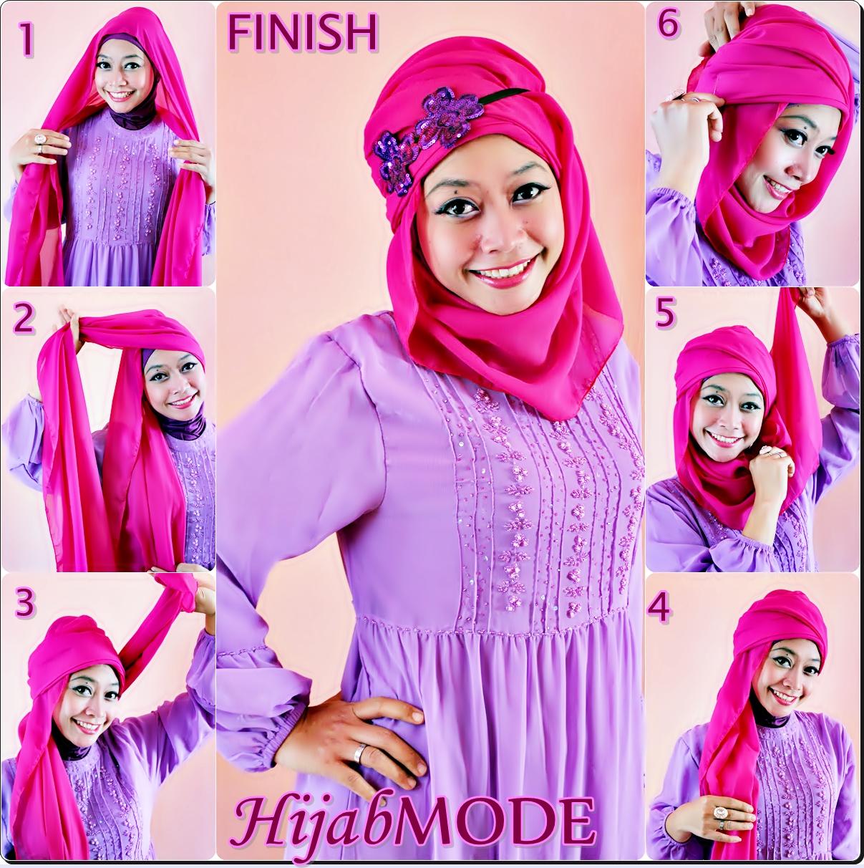 Hijab Mode TUTORIAL HIJAB PASHMINA