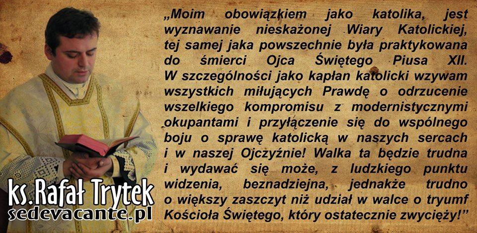 Duszpasterz Bractwa x. Rafał Trytek