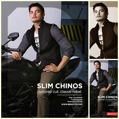 Dingdong Dantes for Bench Back to School (Denim Campaign) 2013