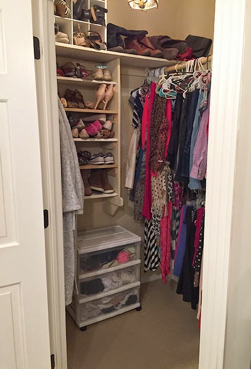 The happy homebodies diy custom closet makeover using for Ikea diy closet