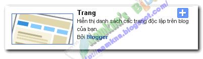 Hướng dẫn tạo thêm trang cho blogspot cực đẹp và nhanh