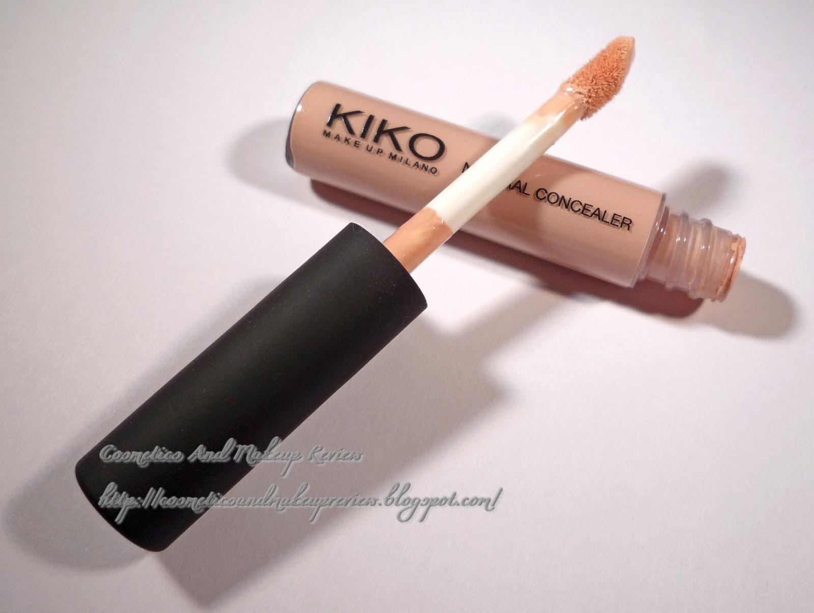 KIKO - Natural Concealer - 01 chiaro - tubetto aperto