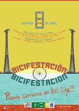 ¡Cruzamos el puente Carranza! Domingo 8 de abril