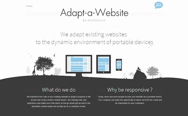 8 Inspirasi Website Flat Desain