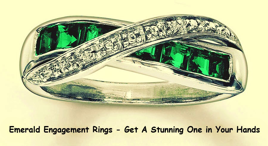 Emerald Engagement Rings - Get A Stunning One in Your Hands