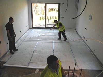 Grupo chao suelo radiante sistema de autofijaci n - Instalacion suelo radiante ...