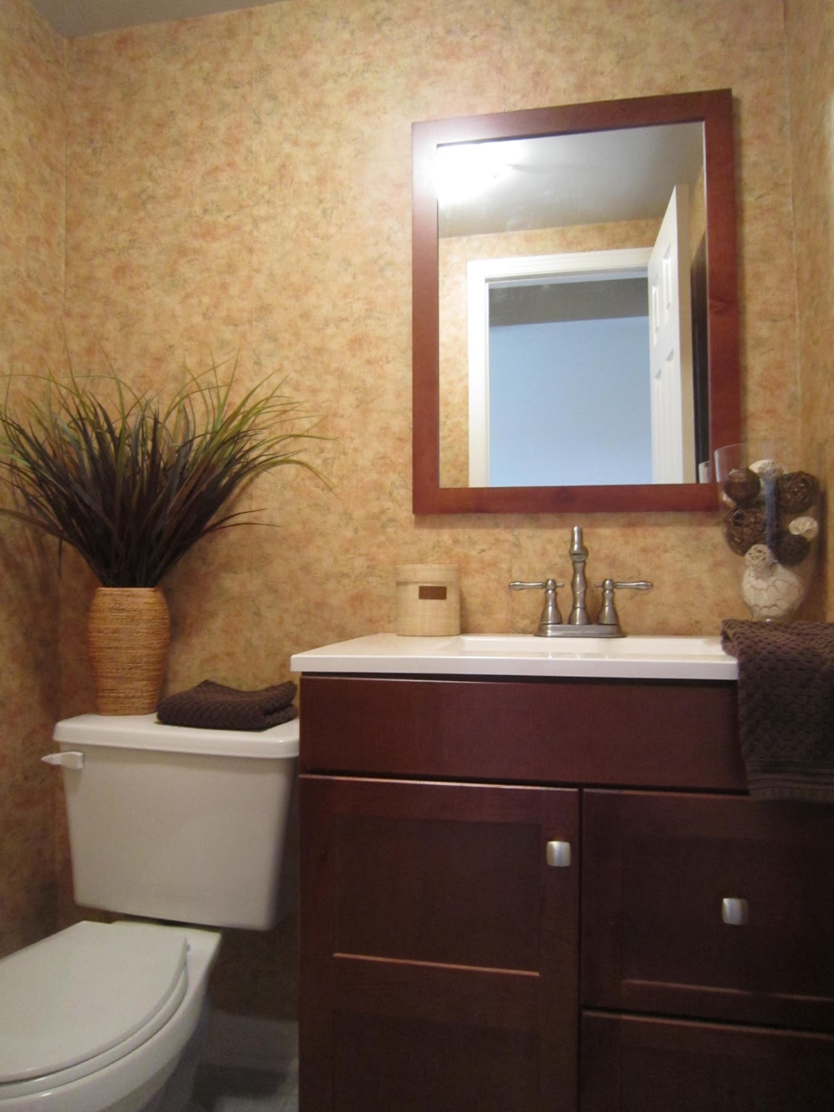 Little Townhome Love Powder Room Makeover