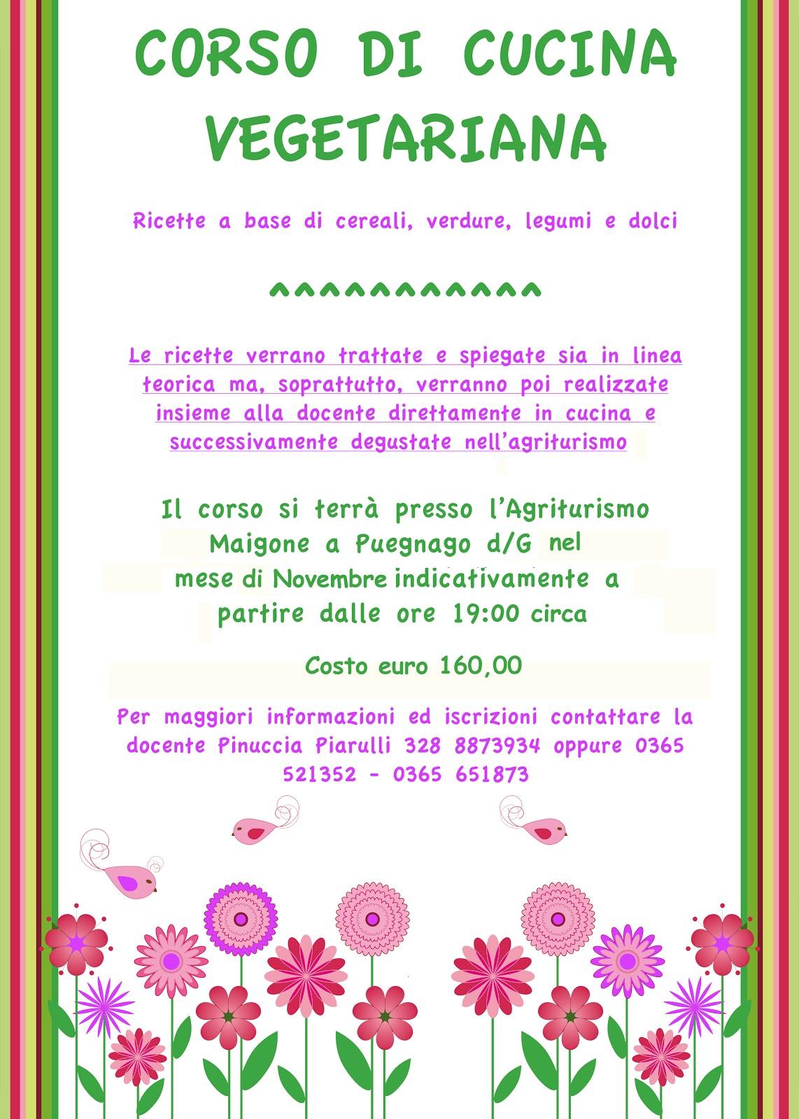 corso di cucina vegetariana e dalie - gianlidia tonoli - Corso Cucina Vegetariana