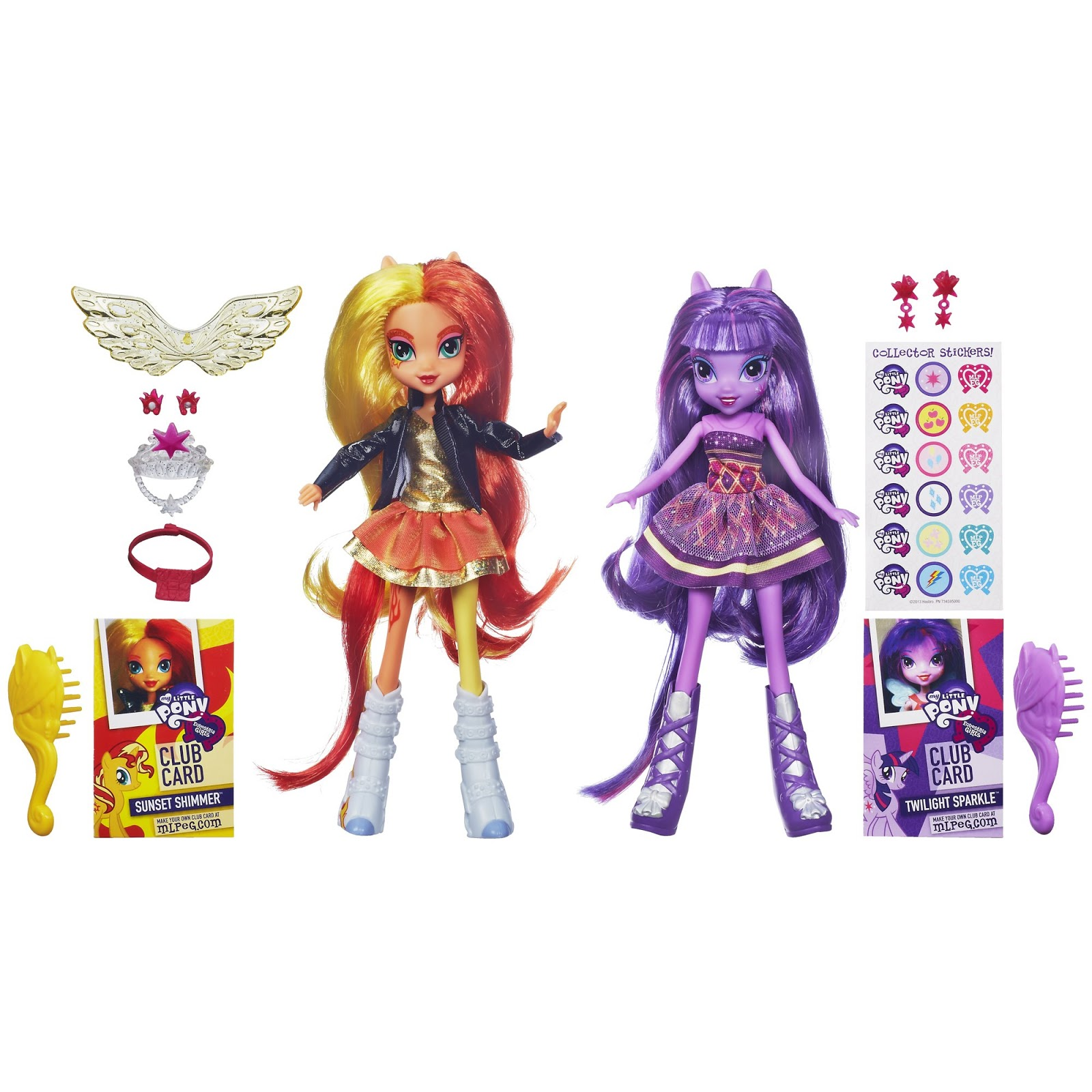 Twilight Sparkle i Sunset Shimmer - My Little Pony
