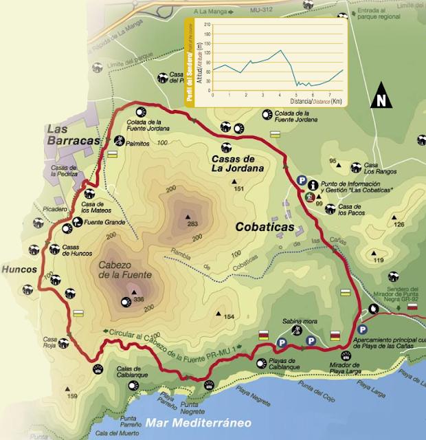 Ruta Calblanque