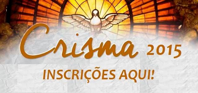 CRISMA 2015 - INSCRIÇÕES