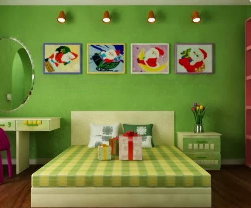 Room escape green christmas room escape flash512 for Small room escape 9 walkthrough