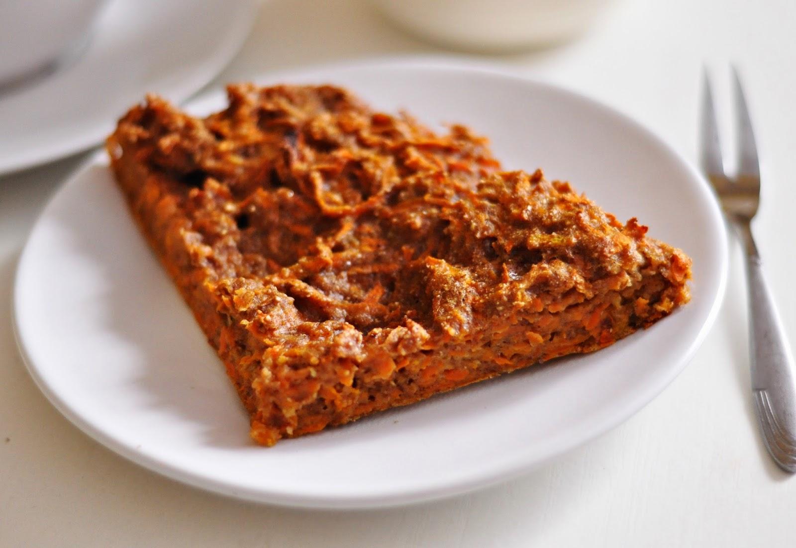 Śniadaniowe ciasto marchewkowe