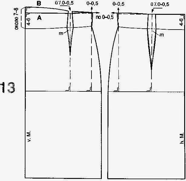 Выкройка кружевной юбки от Анастасии Корфиати