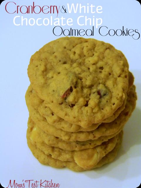 Cranberry White Chocolate Chip Oatmeal Cookies #SecretRecipeClub - Mom ...