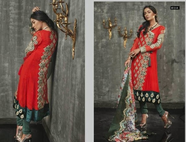 Ruby Shakeel Silk Eid Collection 2014