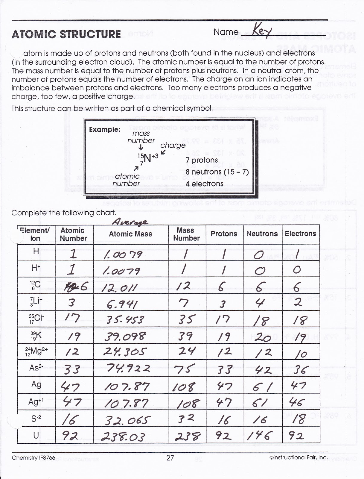 Worksheets Atomic Structure Worksheet atomic structure worksheet images reverse search filename struct ws jpg