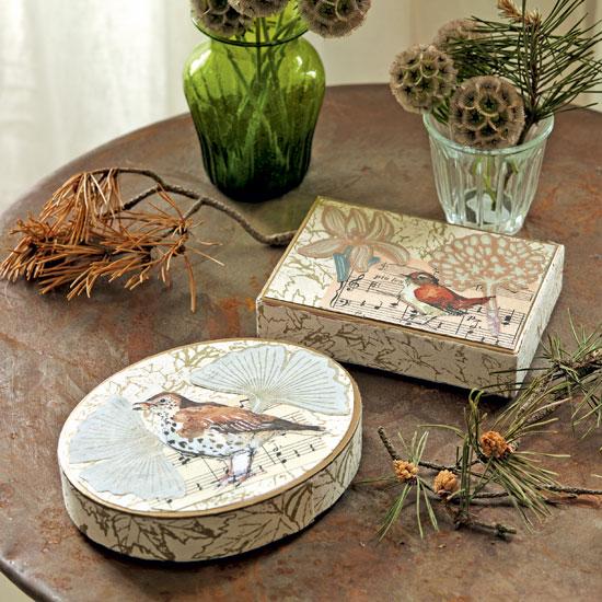 komoda decoupage crafts