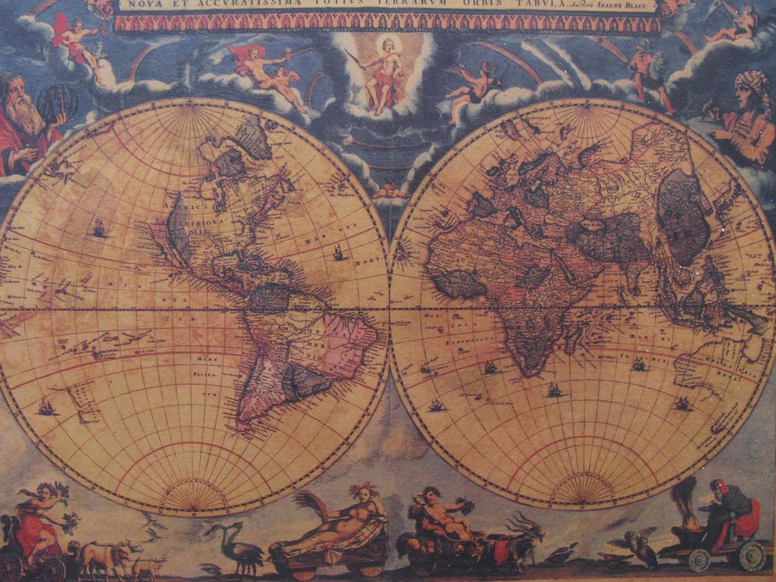 Cartografía antigüa