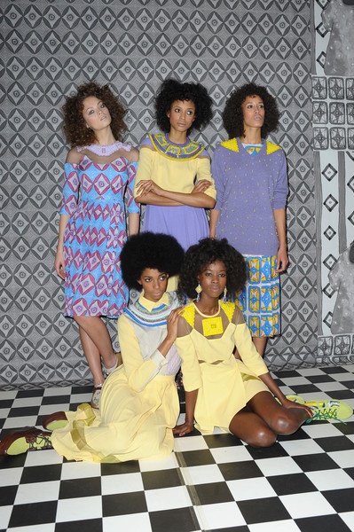TATA-NAKA's AFRICAN INSPIRED COLLECTION AT THE LONDON FASHION WEEK FALL 2012