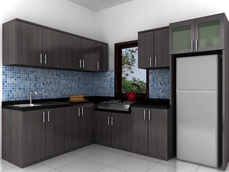 New home design 2011 modern kitchen set design for Kitchen set aluminium