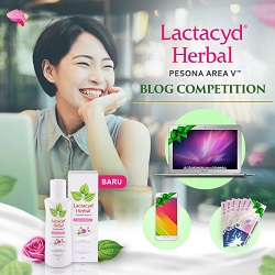 Lactacyd Blog Competition